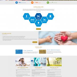 Website bán bảo hiểm nhân thọ