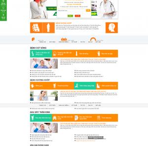 Website phòng khám xương khớp