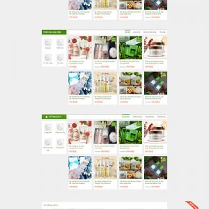 Website bán hàng mỹ phẩm, dụng cụ làm đẹp