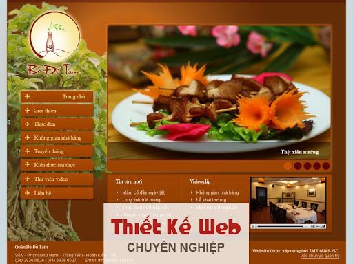 Lợi ích của việc thiết kế website nhà hàng