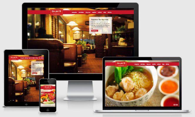 Meocondts - Nơi thiết kế web nhà hàng đẹp và chuyên nghiệp